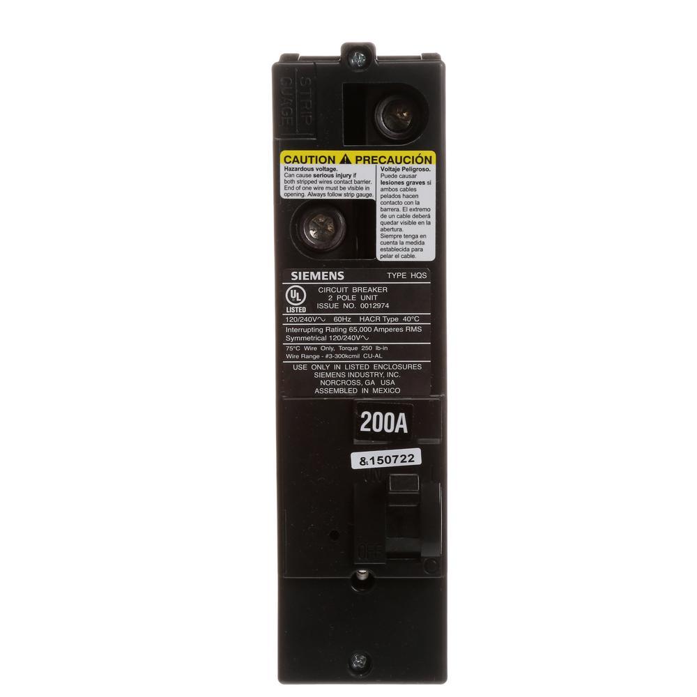 200 Amp Multi-Family Main Breaker Type QS