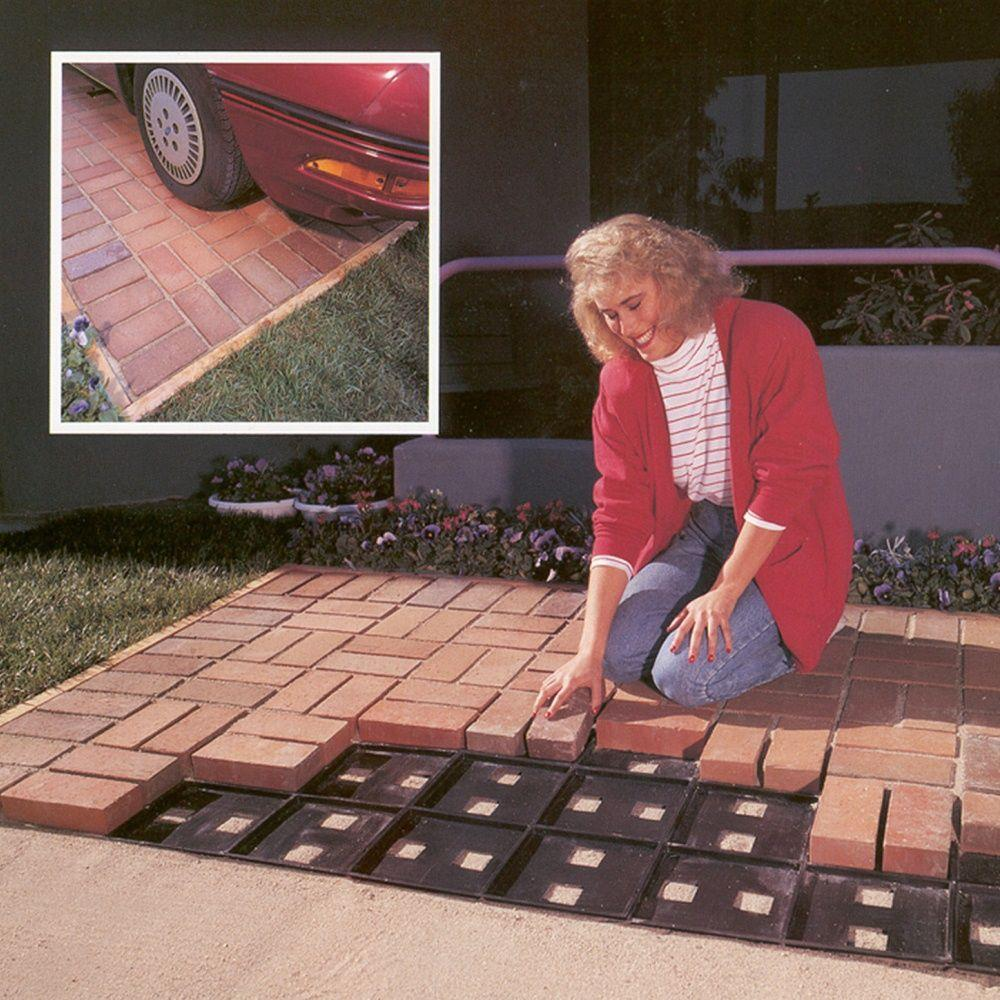 Argee Patio Pal Brick Laying Guides For Modular Bricks 10 Pack Rg190 10 The Home Depot