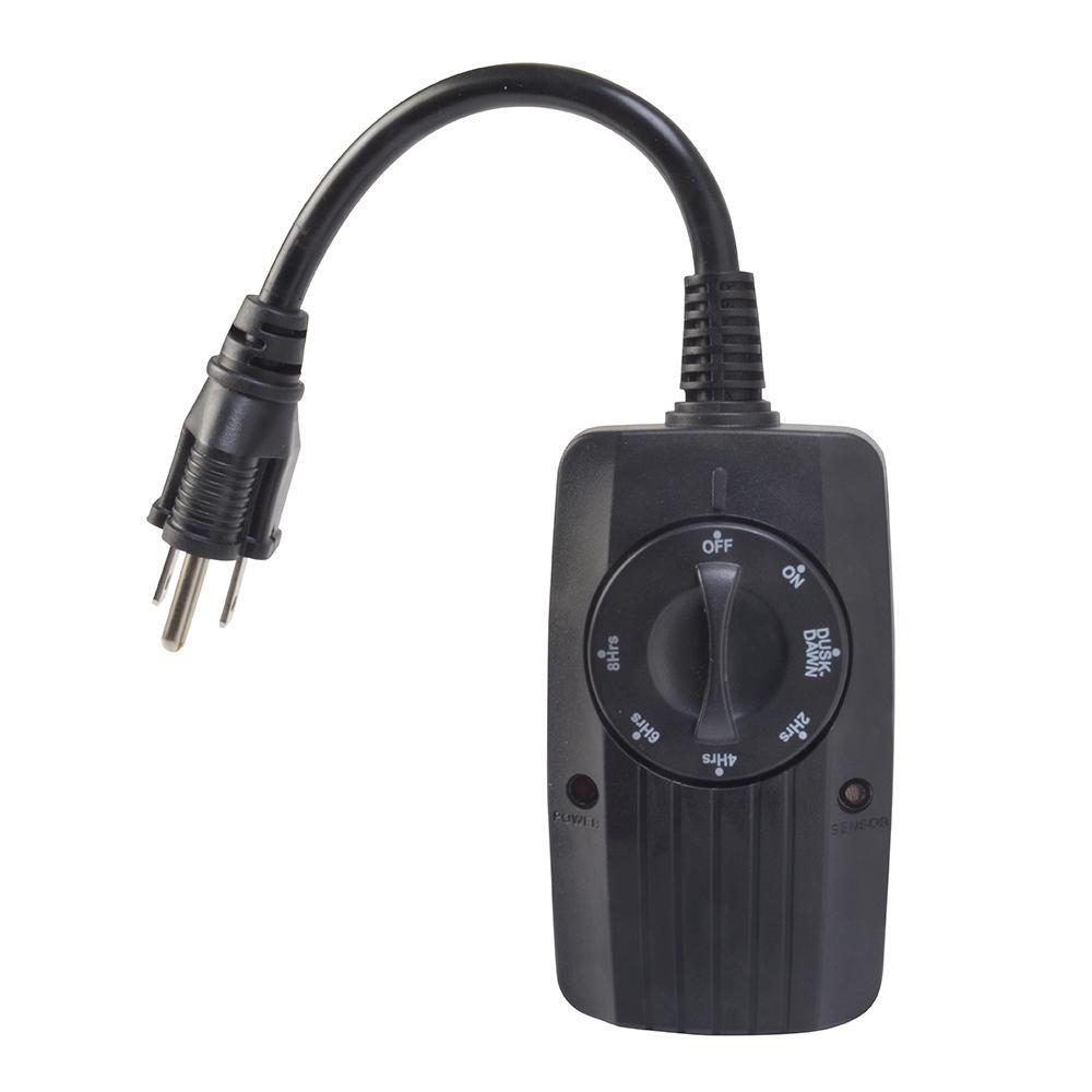 Outside Lights Sensor: Woods 24-Hour Outdoor Timer With Photocell Light Sensor