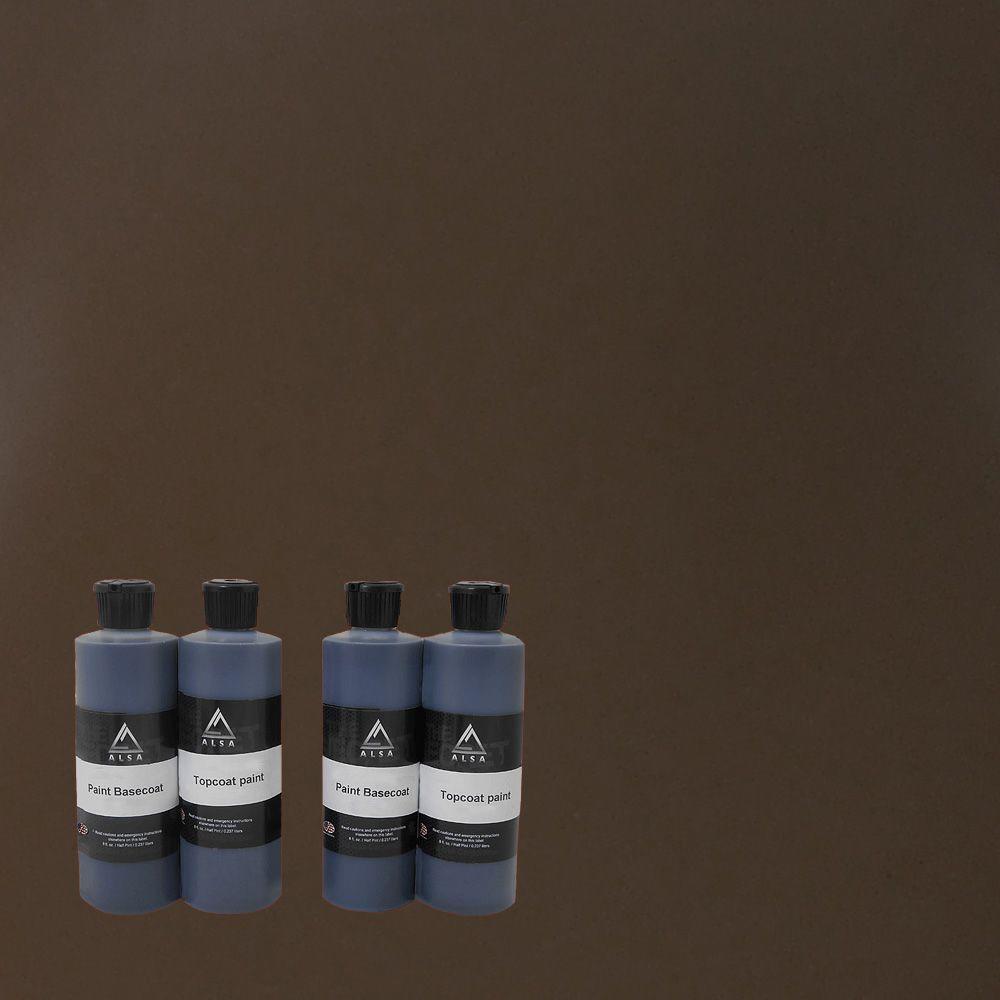 1-qt. Brown Paint Wrap Kit Removable Paint