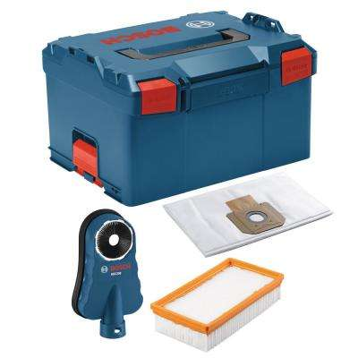 9 Gal. 17.5 in. L x 14 in. W x 10 in. H Pro Plus Guard Drilling Kit with Stackable Tool Storage Hard Case