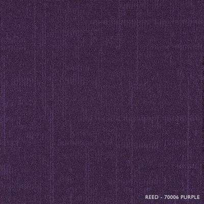 Reed Purple Loop 19.68 in. x 19.68 in. Carpet Tiles (8 Tiles/Case)
