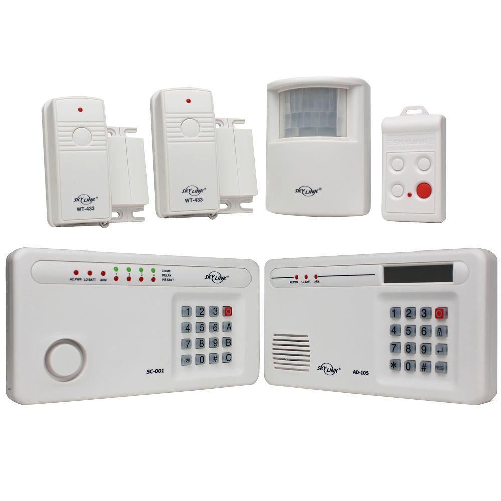 SkyLink Wireless Security Alarm System. SkyLink Wireless Security Alarm System SC 1000   The Home Depot