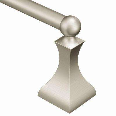 Retreat 24 in. Towel Bar in Spot Resist Brushed Nickel