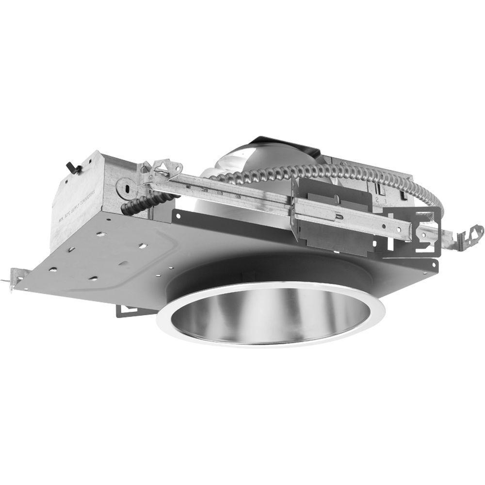 Progress Lighting 8 In Metallic Pro Optic Compact Fluorescent Recessed Housing P8226 Dveb The Home Depot