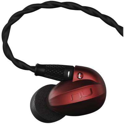 HEM Series High-Resolution Single Driver In-Ear Headphones in Red