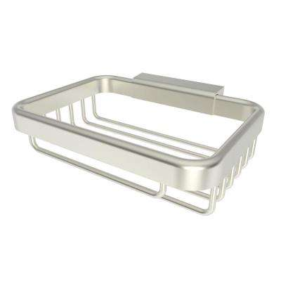 Hotelier Soap Basket in Satin Nickel