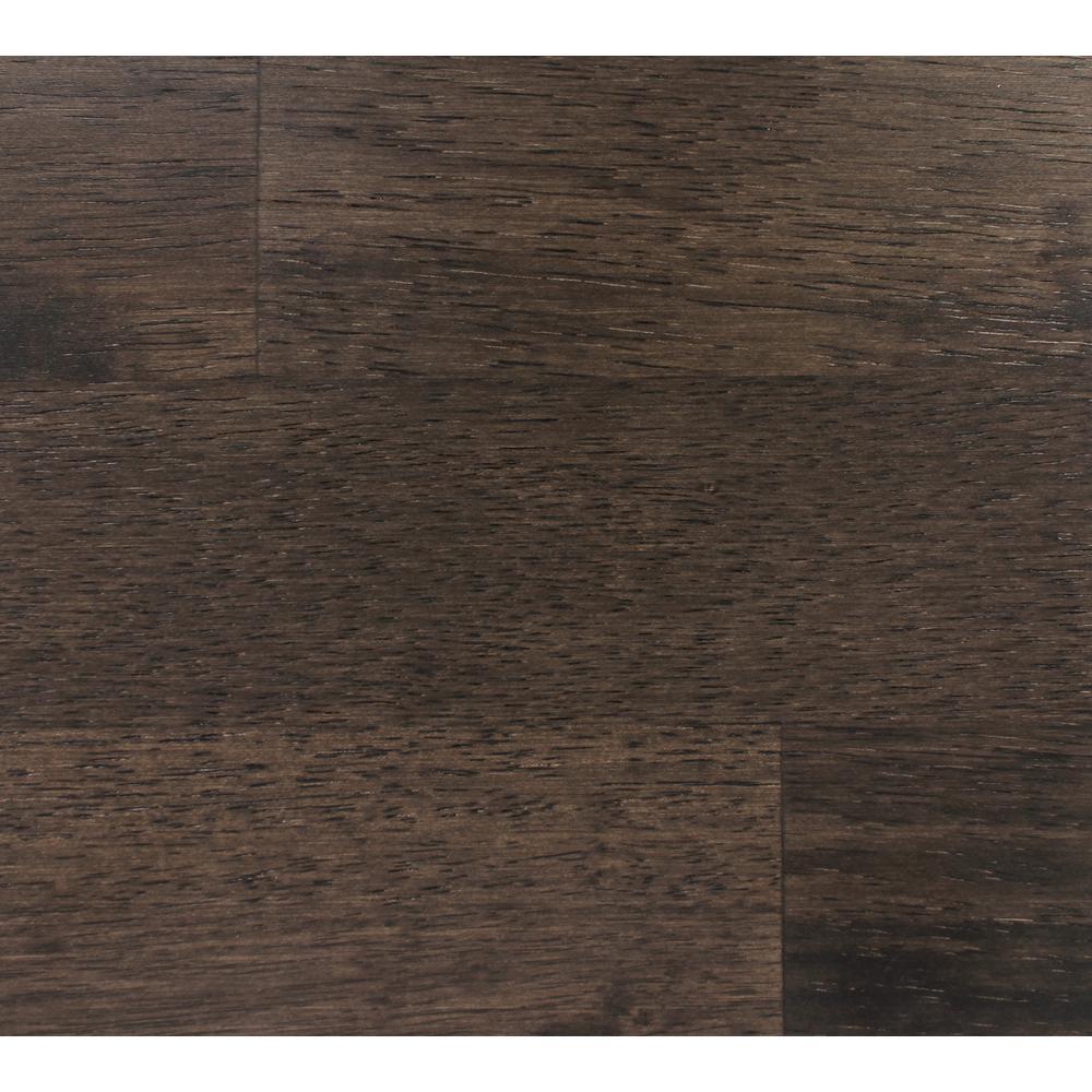 Take Home Sample-Classic Hardwoods Hevea Charcoal Engineered Hardwood Flooring - 7.5 in. x 8.5 in.