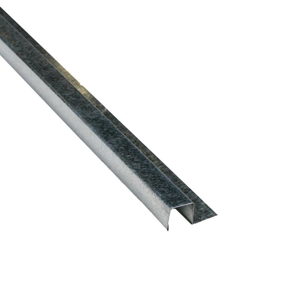 1-1/4 in. x 10.5 ft. Galvalume Steel Base Trim Drip Edge