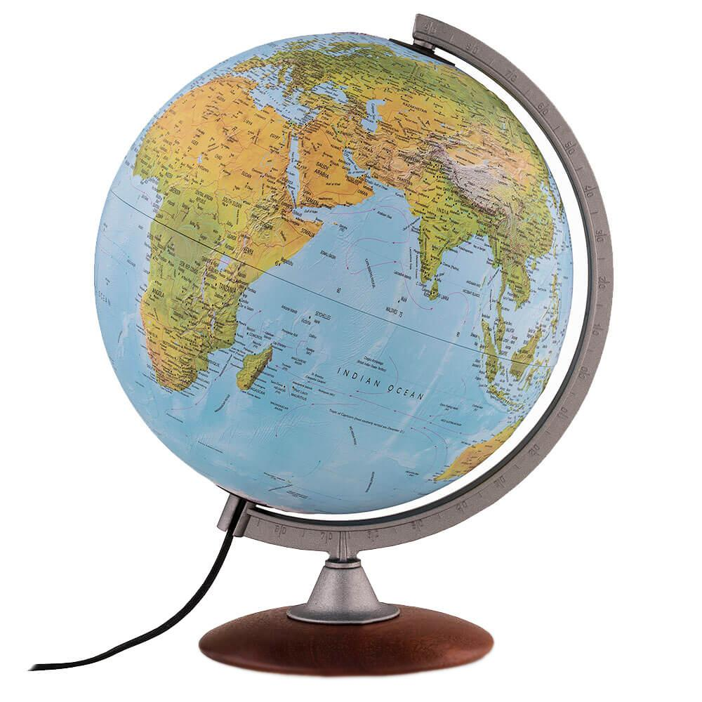 Waypoint Geographic Tactile 12 In Raised Relief Desktop Globe Wp21106 The Home Depot