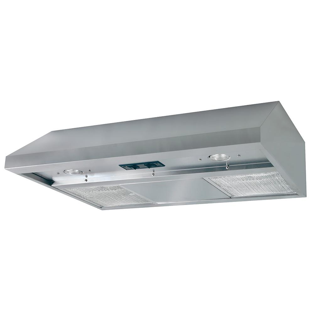 Air King Energy Star Certified 30 In Under Cabinet Convertible Range Hood Deluxe Quiet Ada Compliant With Light Stainless Steel