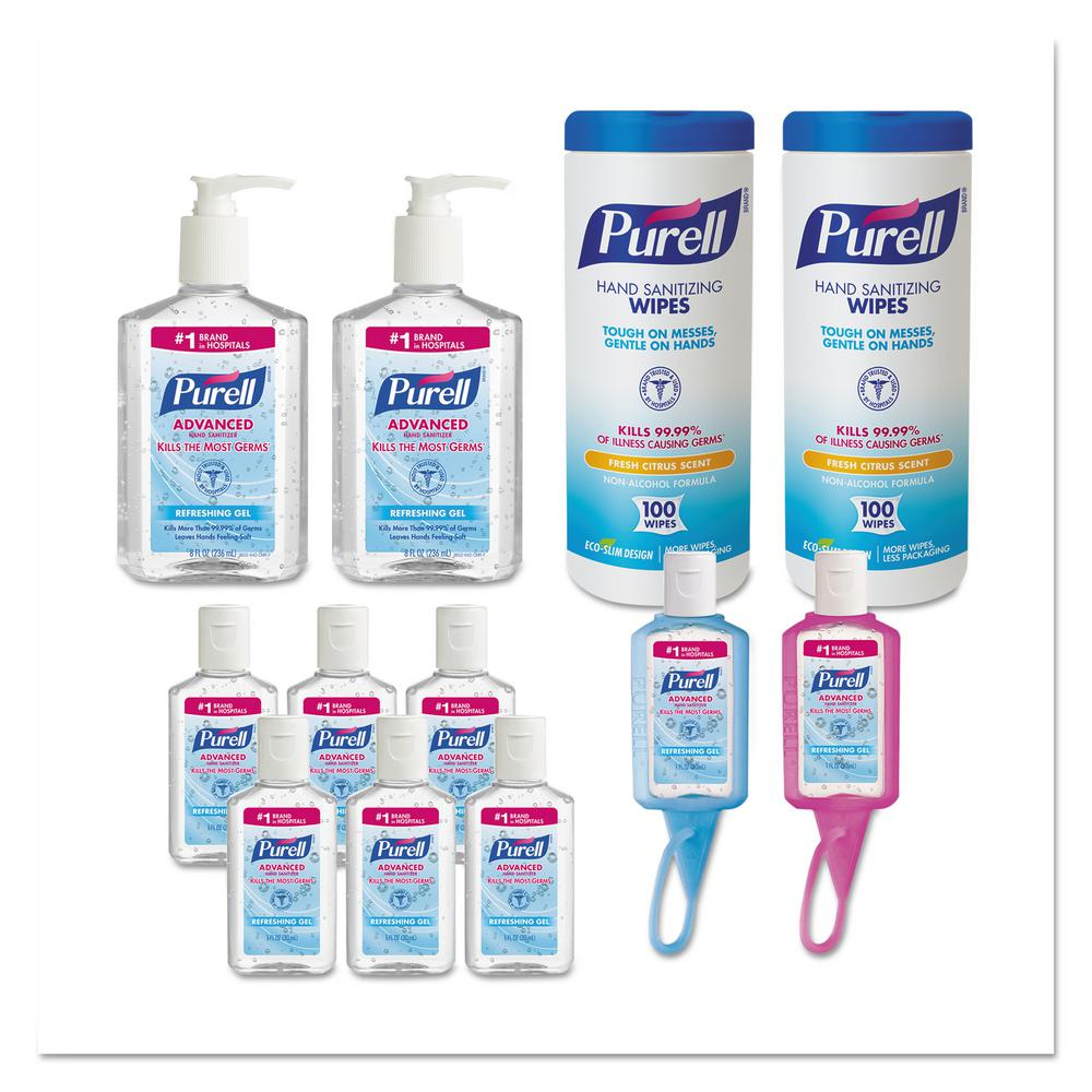 Purell Assorted Office Hand Sanitizer Starter Kit 6 Carton