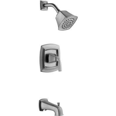 Mason Single-Handle 1-Spray Tub and Shower Faucet in Brushed Nickel