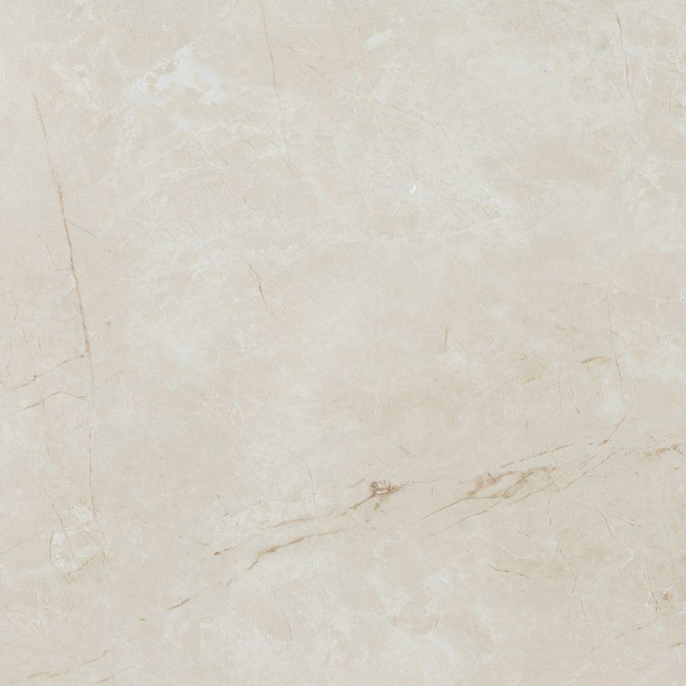 Eliane Delray Beige 12 In X Ceramic Floor And Wall Tile