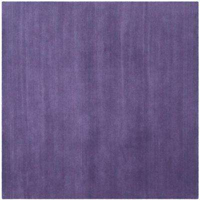 Himalaya Purple 8 ft. x 8 ft. Square Area Rug
