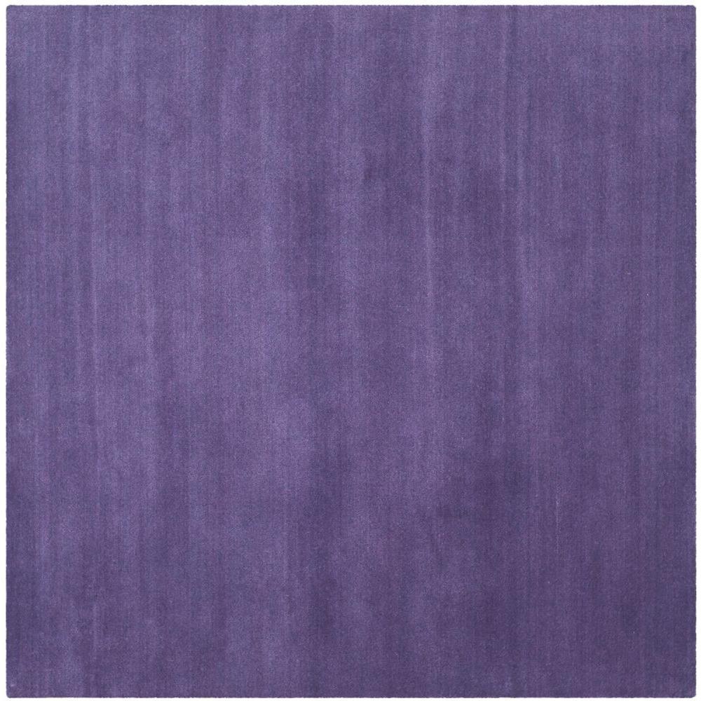 Himalaya Purple 8 ft. x 8 ft. Square Area Rug