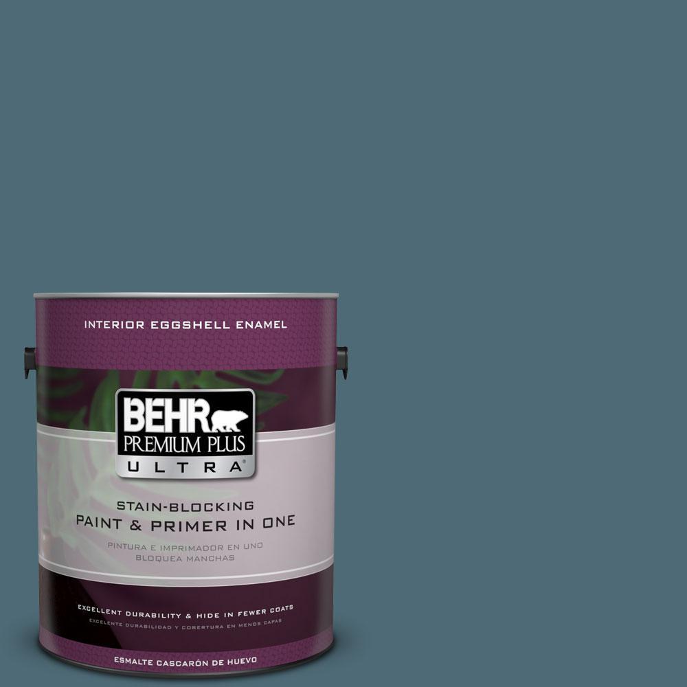 BEHR Premium Plus Ultra 1-gal. #S470-6 Shipwreck Eggshell Enamel Interior Paint