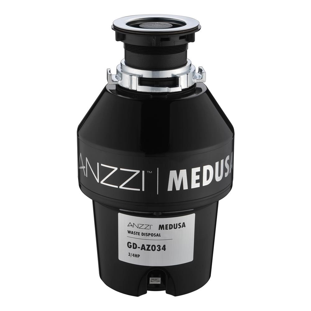 Medusa Series 3/4 HP Continuous Feed Garbage Disposal