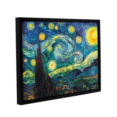 """Starry Night"" by Vincent van Gogh Framed Canvas Wall Art"