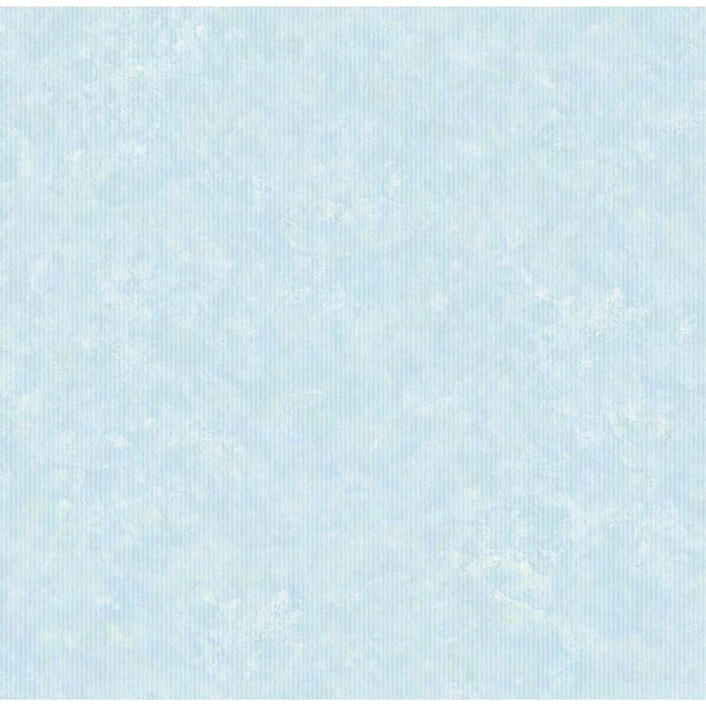 Chesapeake Nicky Light Blue Textured Pinstripe Wallpaper Sample