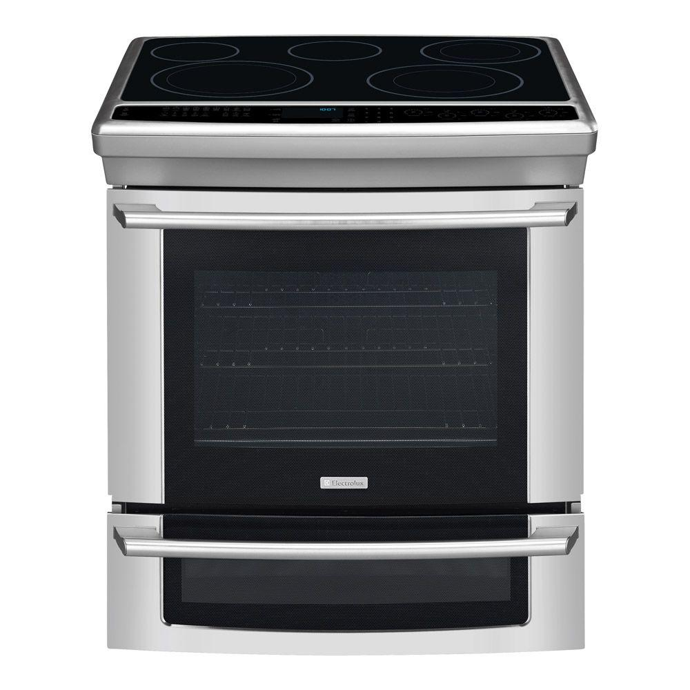 Electrolux IQ-Touch 4.2 cu. ft. Slide-In Electric Range with Self-Cleaning Convection Oven in Stainless Steel-DISCONTINUED