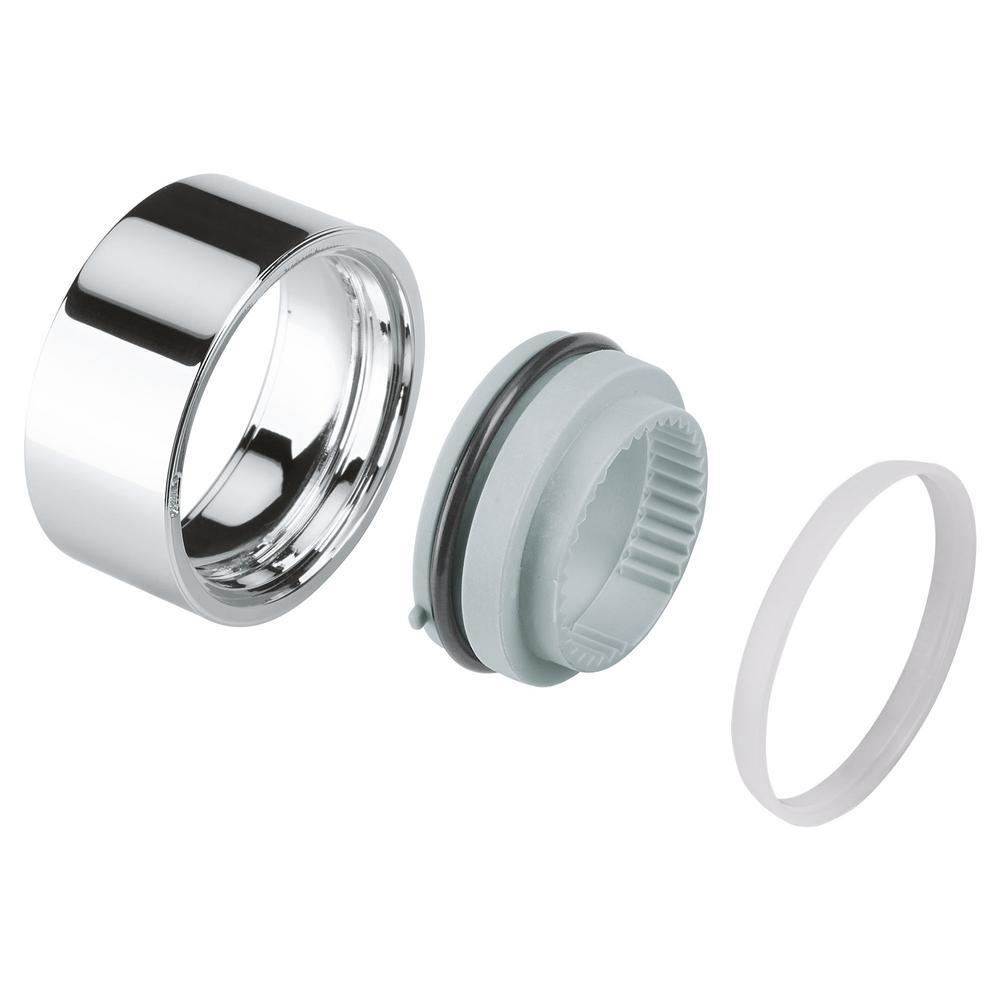 Aqua Dimmer Stop Ring For Shared Function, Starlight Chrome