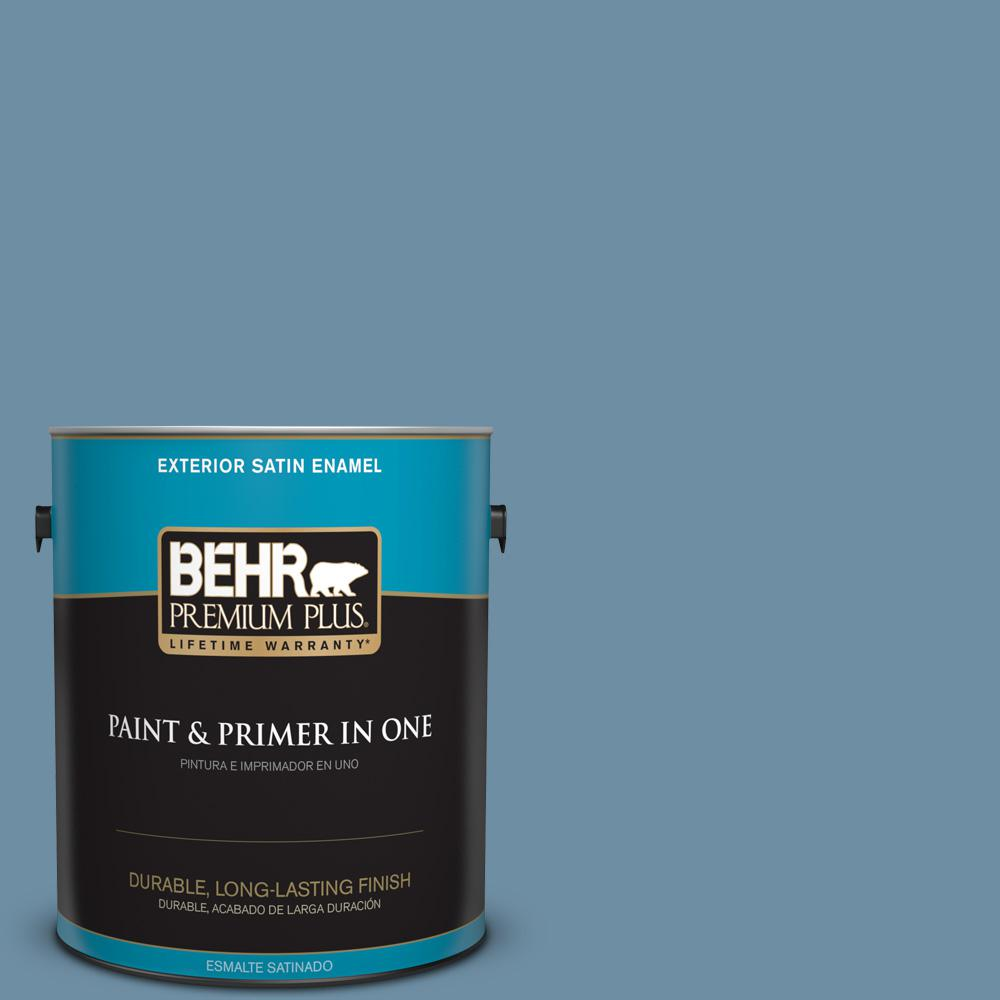 1 gal. #PPU14-04 French Court Satin Enamel Exterior Paint