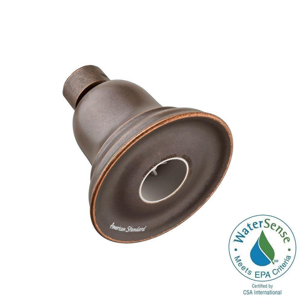 American Standard FloWise 1-Spray 3.25 in. Water-Saving Showerhead in Oil Rubbed Bronze