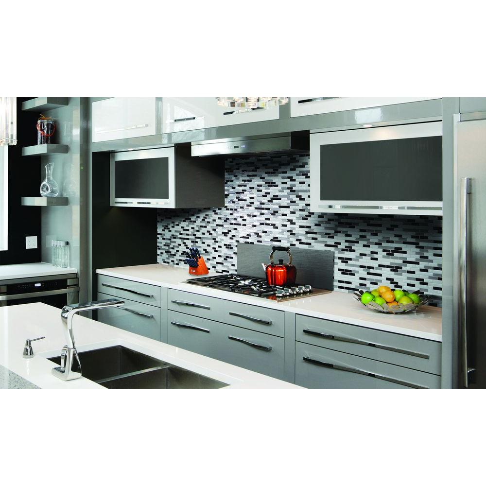 Smart tiles muretto alaska 1020 in w x 910 in h peel and stick smart tiles muretto alaska 1020 in w x 910 in h peel and stick self adhesive decorative mosaic wall tile backsplash sm1057 1 the home depot dailygadgetfo Images