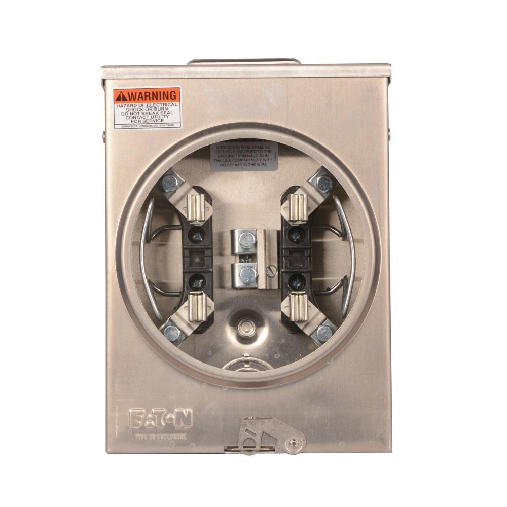125 Amp Residential Ringless Meter Socket