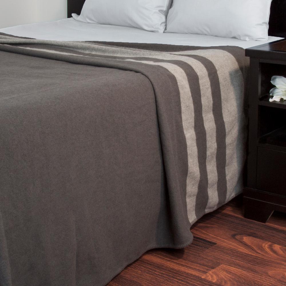 Platinum (White) Australian Wool Full/Queen Blanket