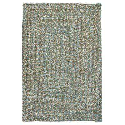 Wesley Seagrass 5 ft. x 8 ft. Rectangle Braided Area Rug