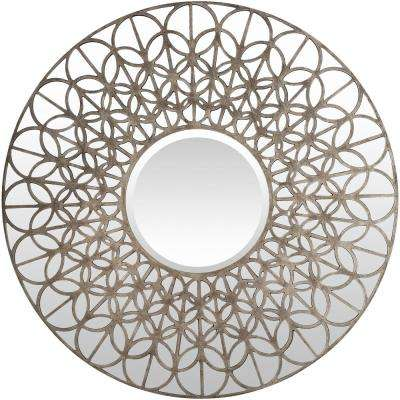 Benthey 39 in. x 39 in. Contemporary Framed Mirror