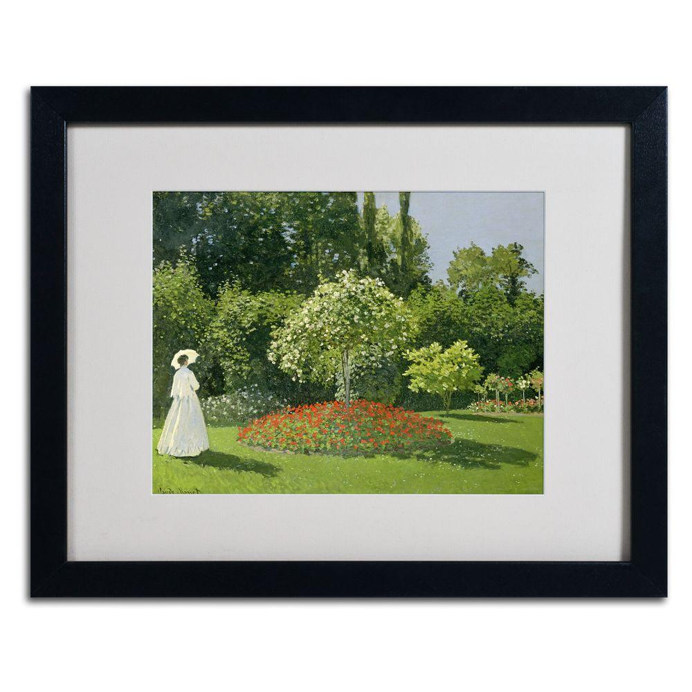 16 in. x 20 in. Jeanne Marie Lecadre in the Garden