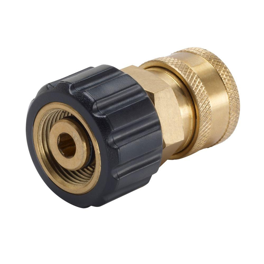 Pressure Washer Quick Release 19.5 mm Coupling Male M22 Female
