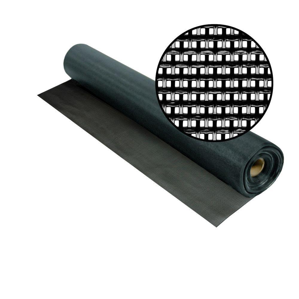 Phifer 48 in. x 100 ft. Black SunTex 80