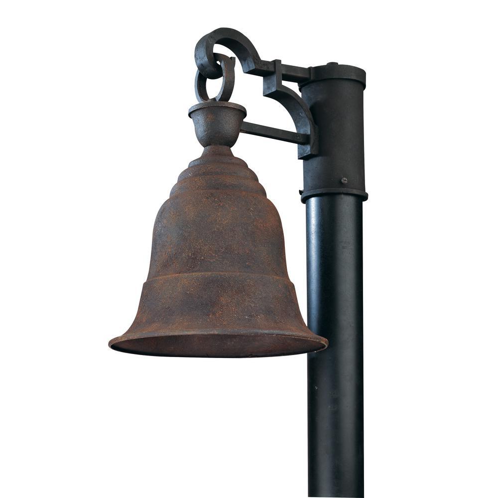 Liberty Outdoor Centennial Rust Post Light