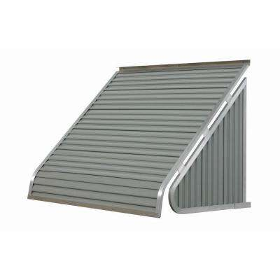 6 ft. 3500 Series Aluminum Window Awning (28 in. H x 24 in. D) in Greystone
