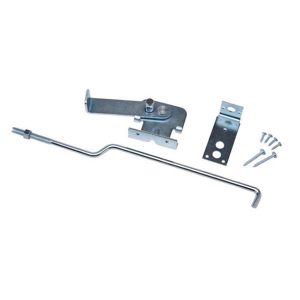 Crown Bolt Galvanized Center Latch for Wood Doors