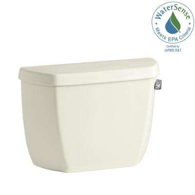 Wellworth Classic 1.28 GPF Single Flush Toilet Tank Only in Biscuit