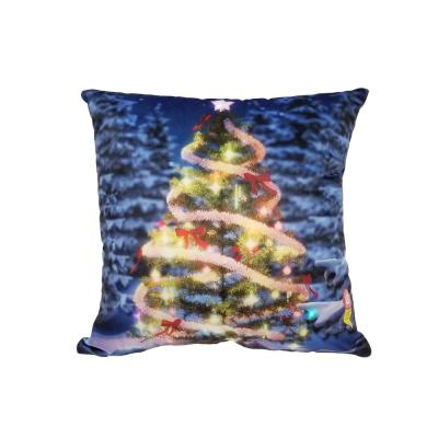 LED Christmas Tree Standard Pillow