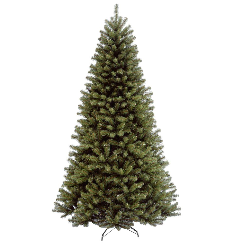 National Tree Company 7 ft. North Valley Spruce Hinged Artificial Christmas Tree