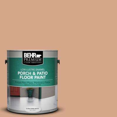 1 gal. #PPU3-11 Autumn Air Low-Lustre Enamel Interior/Exterior Porch and Patio Floor Paint