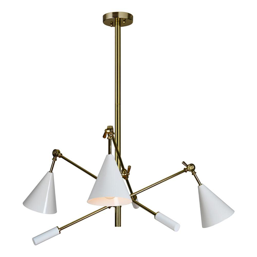 Renwil frisket 3 light gold pendant lpc4021 the home depot renwil frisket 3 light gold pendant arubaitofo Images