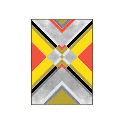 "51.25 in. x 37.25 in. ""Boho II"" by Bobby Berk Printed Framed Wall Art"