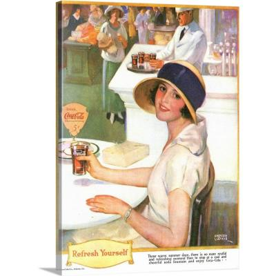 """""""Coca-Cola"""" by Advertising Archives Wall Art"""
