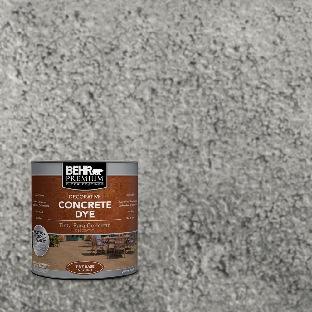 Behr premium 1 qt cd 825 industrial gray concrete dye 86304 cd 825 industrial gray concrete dye nvjuhfo Image collections
