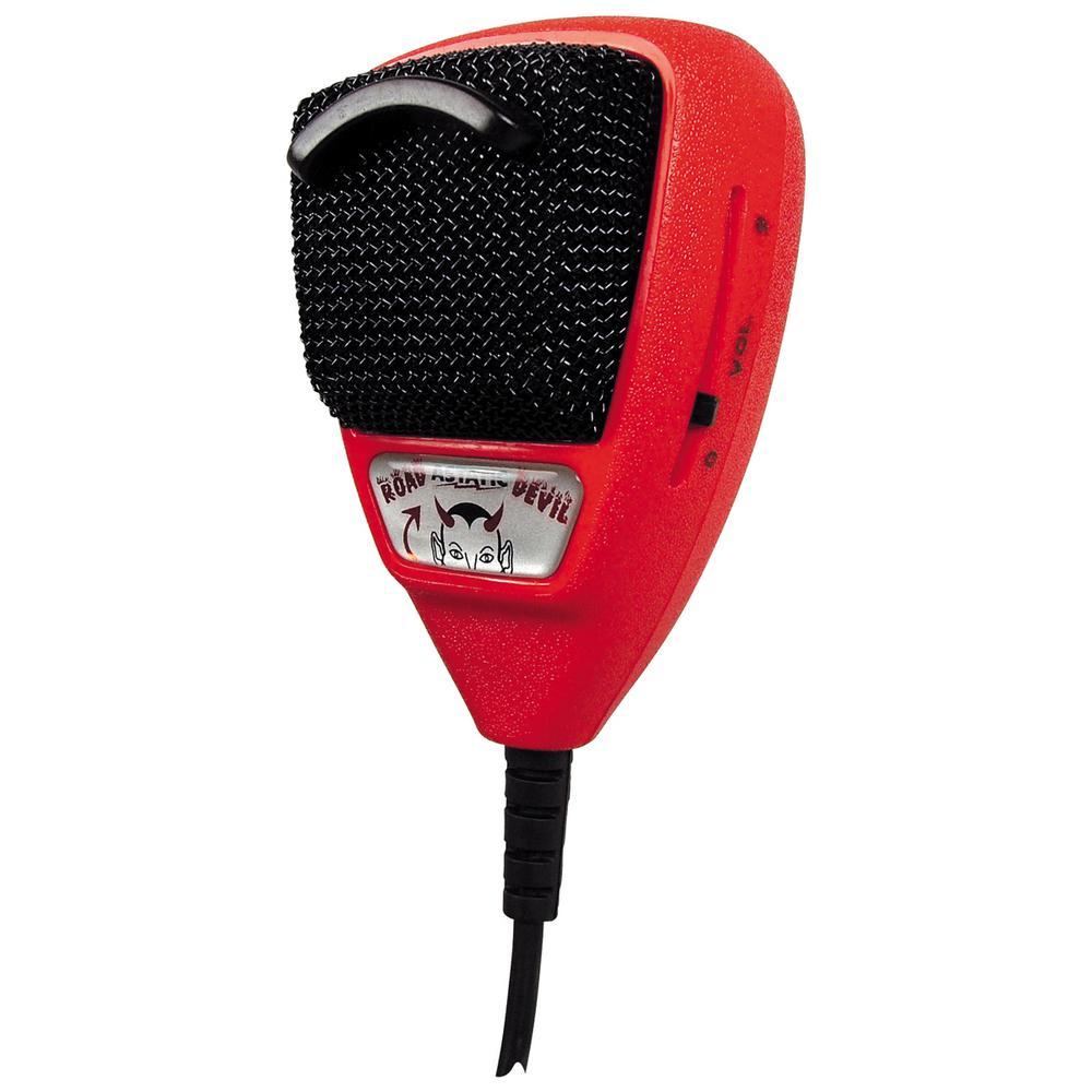 RD104E Road Devil Amplified 4-Pin CB Microphone