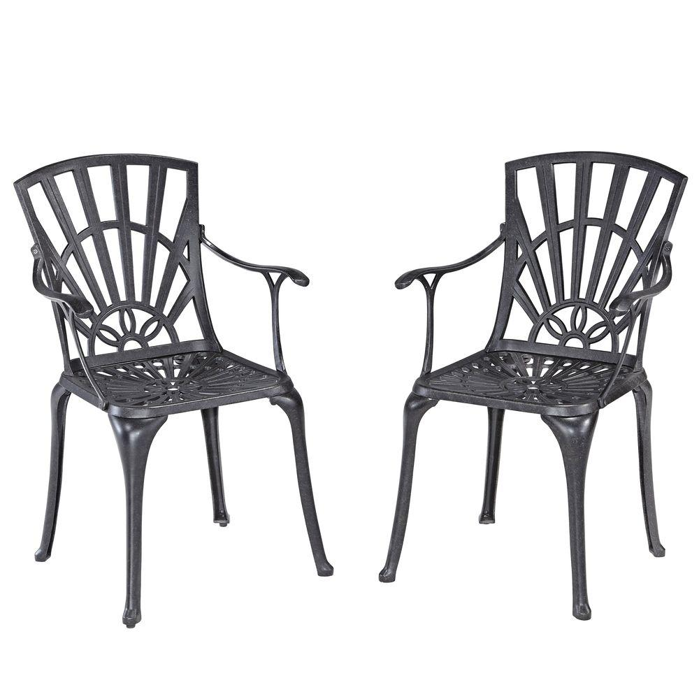 Home Styles Largo Patio Dining Pair with Cushions