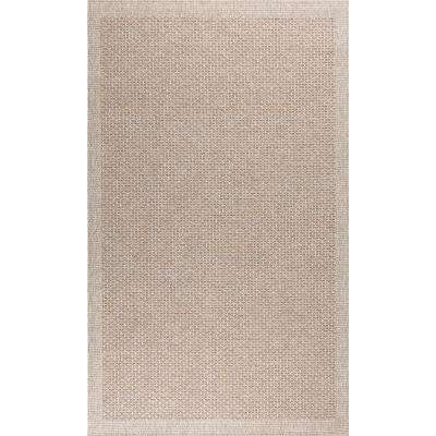 Serenity Taupe 7 ft. 6 in. x 10 ft. 3 in. Area Rug